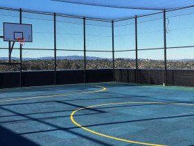 Engineering Dynamics Nexus 10 Rooftop Basketball Court Isolation