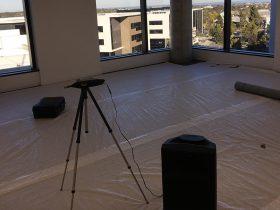 Engineering Dynamics Nexus 10 Rooftop Basketball Court Isolation Testing