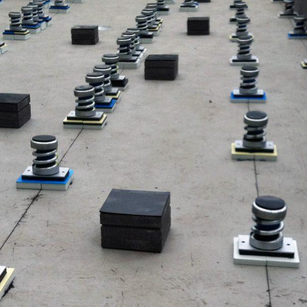 Engineering Dynamics Generator Floor Isolators