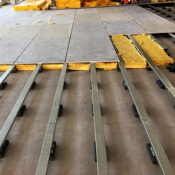 Engineering Dynamics Gym Floor Isolator