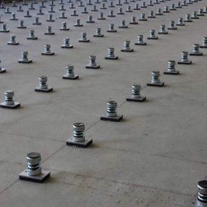 Engineering Dynamics Gym Floor Isolators