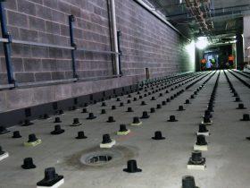 Engineering Dynamics Concrete Floor Isolation Installation