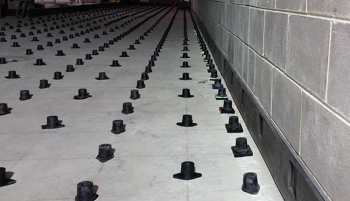 Engineering Dynamics Concrete Floor Isolation