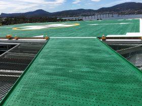 Engineering Dynamics Hobart Hospital Helipad Landing Platform