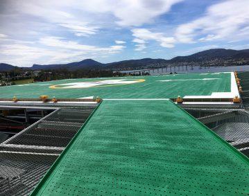 Engineering Dynamics Hobart Hospital Helipad Project