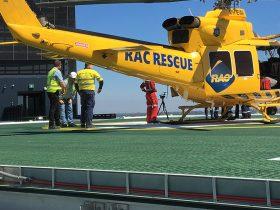 Engineering Dynamics Perth Childen's Hospital Helipad & Pool Isolation - Helipad