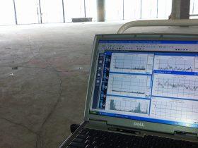 Engineering Dynamics Perth Childen's Hospital Helipad & Pool Isolation - PNCH Dynamic Floor Test