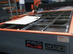 Engineering Dynamics Plasma Cutting Table