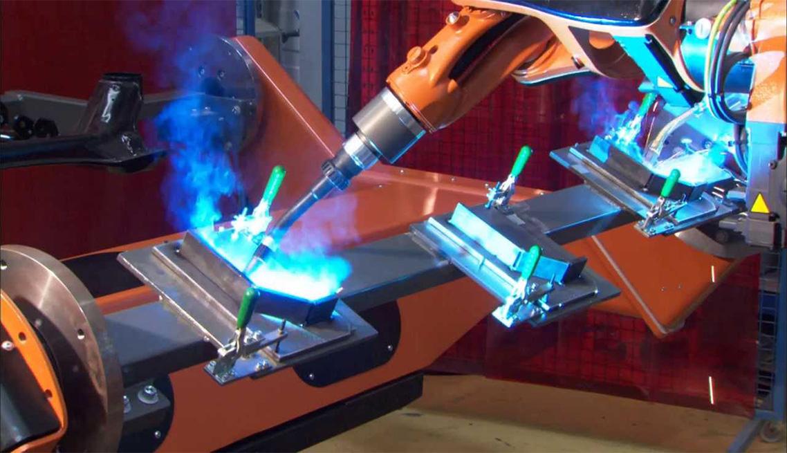 Engineering Dynamics Welding Robot
